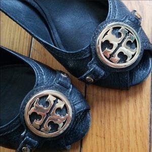 Tory Burch EUC 7.5 Wedge Shoes